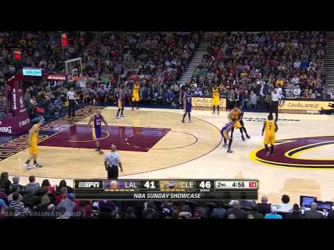 LA Lakers vs Cleveland Cavaliers | Full Highlights | February 8, 2015