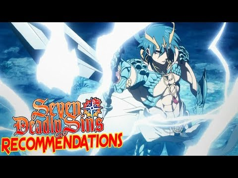 Top 5 Anime Like the Seven Deadly Sins (Component Analysis)