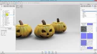 Solid Edge &  KeyShot - Halloween Pumpkin MM