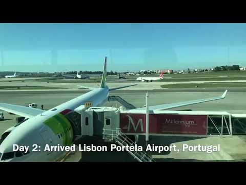 Ellenpro Travel Vlog - Portugal & Lithuania, Nov 2017