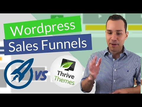 Best Funnel & Landing Page Builder For WordPress: OptimizePress vs Thrive Themes: (Thrive Wins?) - 동영상