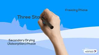FREEZE DRYING ANIMATION IN PROGRESS