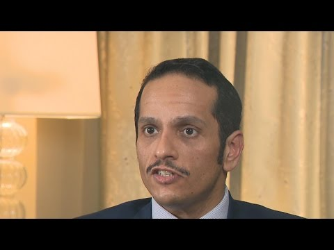 Qatar foreign minister denies funding al-Qaeda groups