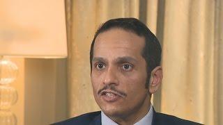 Qatar foreign minister denies funding al-Qaeda groups
