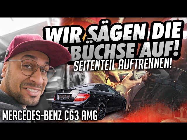 JP Performance - Wir sägen die Büchse auf! | Mercedes C63 AMG Black Series Umbau Start