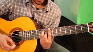 HOW TO: Guitar Tutorial: 3 Bar Chords G, C, F
