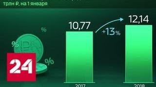Россия в цифрах. По каким кредитам платят не вовремя - Россия 24