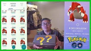 Mein BESTES Groudon?! Groudon Statistik & Wootbox Opening Pokemon Go!