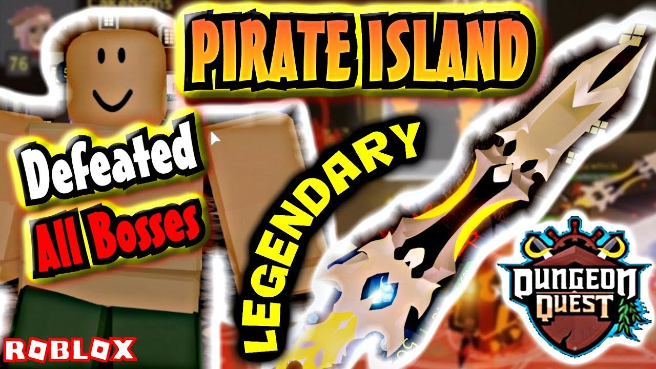 Dungeon Quest New Map New Legendary New Pirate Island
