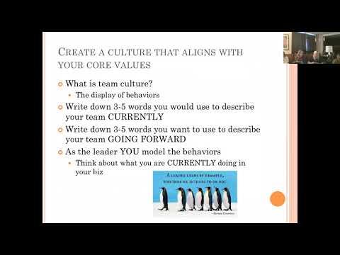 Erin Brown  team culture