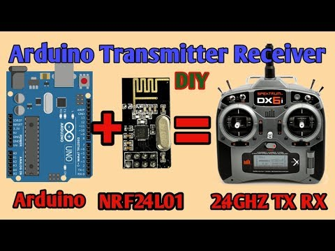 Arduino NRF24L01 transitter receiver project | NRF24L01 2 4GZ  tutorial | Arduino Wireless RF Tx Rx