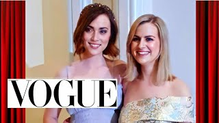 73 Questions With Rose and Rosie | Vogue (Parody)