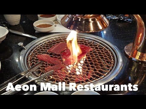 Restaurants and Food Court in Aeon Mall Long Bien (Nhà hàng ăn ở Aeon Mall Long Biên)