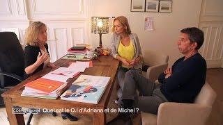 Le test de Q.I. d'Adriana Karembeu et Michel Cymès