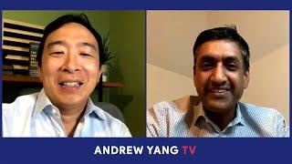 Andrew Yang & U.S. Rep. Ro Khanna - Interview | Sep 01 2020