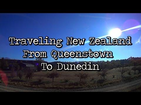 Traveling New Zealand : Scenery Queenstown to Dunedin #NZ
