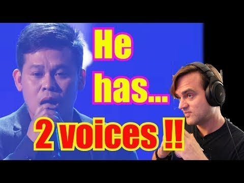 First Time Reaction: DUAL VOICE SINGER - Marcelito Pomoy The Prayer AGT: The Champions, Two Voices