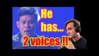 Baixar First Time Reaction: DUAL VOICE SINGER - Marcelito Pomoy The Prayer AGT: The Champions, Two Voices