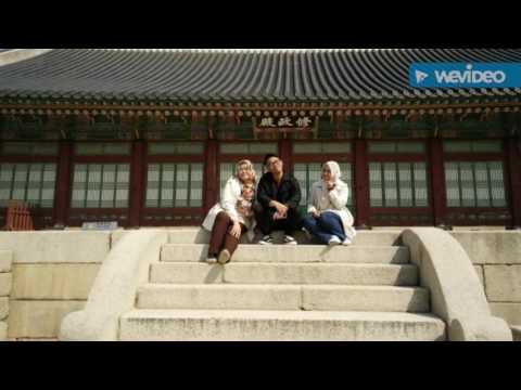 Korea Trip 2017-  Day 2 at Gyeongbukgung Palace, National Folk Museum & Insadong