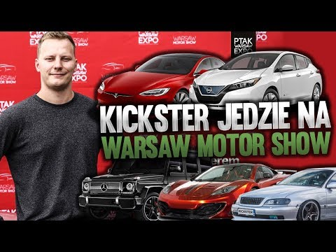 Kickster jedzie na Warsaw Motor Show