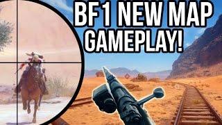 BATTLEFIELD 1 NEW MAP SNIPER GAMEPLAY! BF1 Squads Livestream