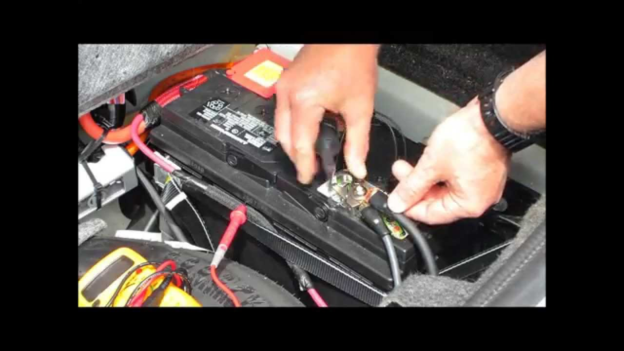 How To Check For And Fix A Battery Drain In Your Car Youtube Chrysler 300 Front Fuse Box Premium