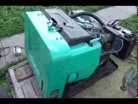 Onan Emerald Iii 6500 Watt Generator Great Backup Power U