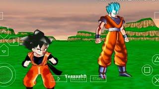 Chơi Game 7 viên ngọc rồng siêu cấp - tập 15   Son Gohan Super Xayda Blue vs Vegito Cấp 4