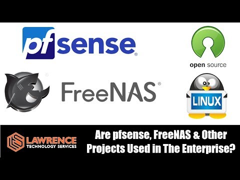 Is pfsense, FreeNAS & Other Open Source Projects Used in