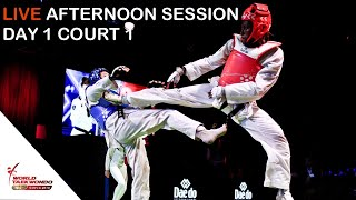 Gambar cover Sofia 2019 World Taekwondo Grand Prix Day 1 Court 1 Session 2