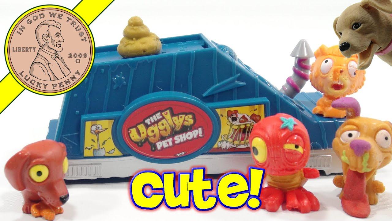 the ugglys pet shop pet store bonus blind bag chico visits youtube. Black Bedroom Furniture Sets. Home Design Ideas