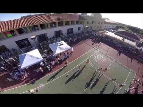 Aerial Video Phoenix Forum Dodgeball Event