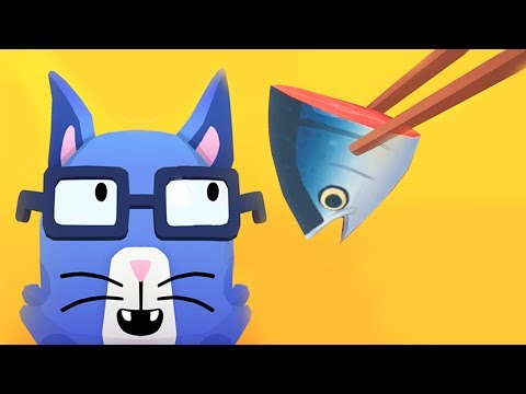 ГОТОВКА ЧЕЛЛЕНДЖ | Готовим суши для котика в новой игре ТОКА КИТЧЕН  для детей