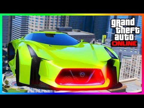 NEW GTA ONLINE DLC UPDATE COMING TOMORROW - NEW SUPER CAR RELEASING, TRANSFORM RACES & MORE! (GTA 5)