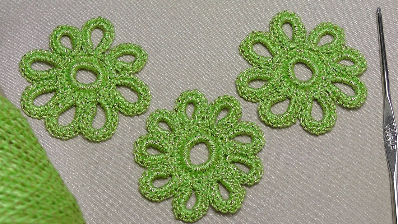 ... ??? ?????????? - Crochet lessons for beginners - YouTube