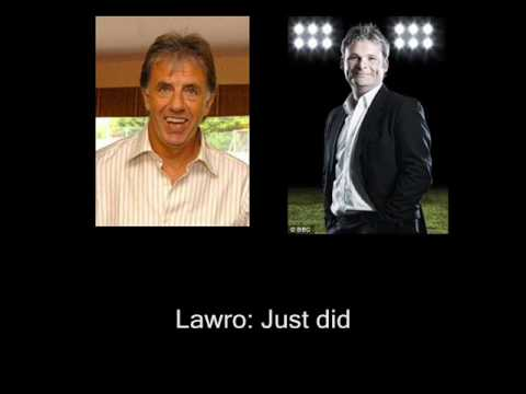 Lawro v Mowbray commentary spat