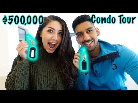 $500,000 NEW CONDO TOUR | DOWNTOWN CALGARY