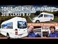 Complete Tour of Our New Ultimate Class B RV | 2018 Roadtrek CS Adventurous XL