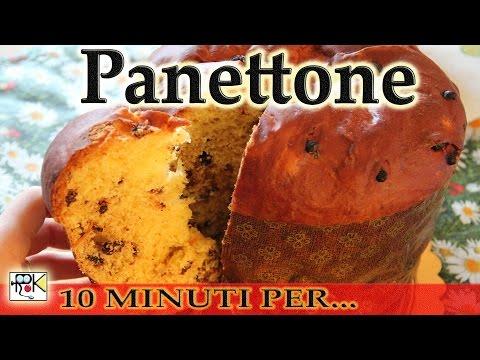 10 minuti per...preparare Panettone fatto in casa. Buonissimo.