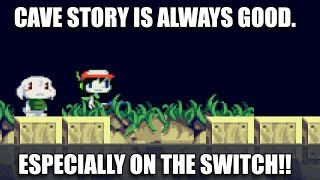 Cave Story+ on Switch is Great! [4K Quick Play]