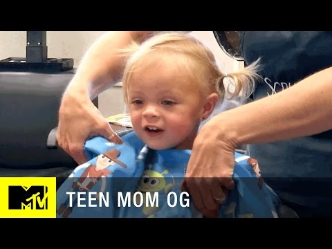 'Nova's First Hair Cut' Deleted Scene   Teen Mom (Season 6)   MTV