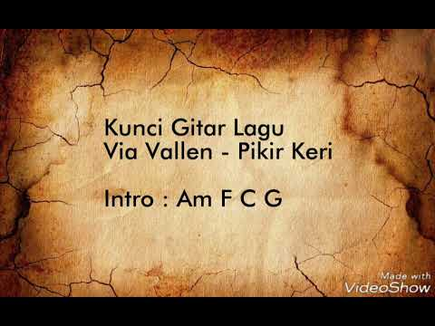 Via Vallen - Pikir Keri (Lyric Video & Chord Gitar )