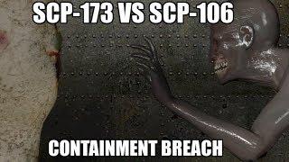 SCP 173 VS SCP 106 SFM