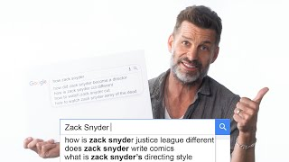 Zack Snyder Answers the Web's Most Searched Questions | WIRED Thumb