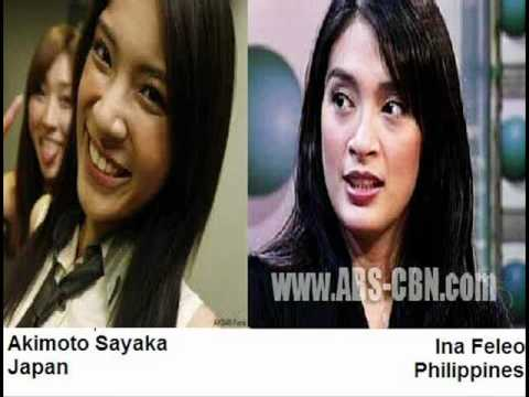 Celeb look alike japanese and filipinos youtube