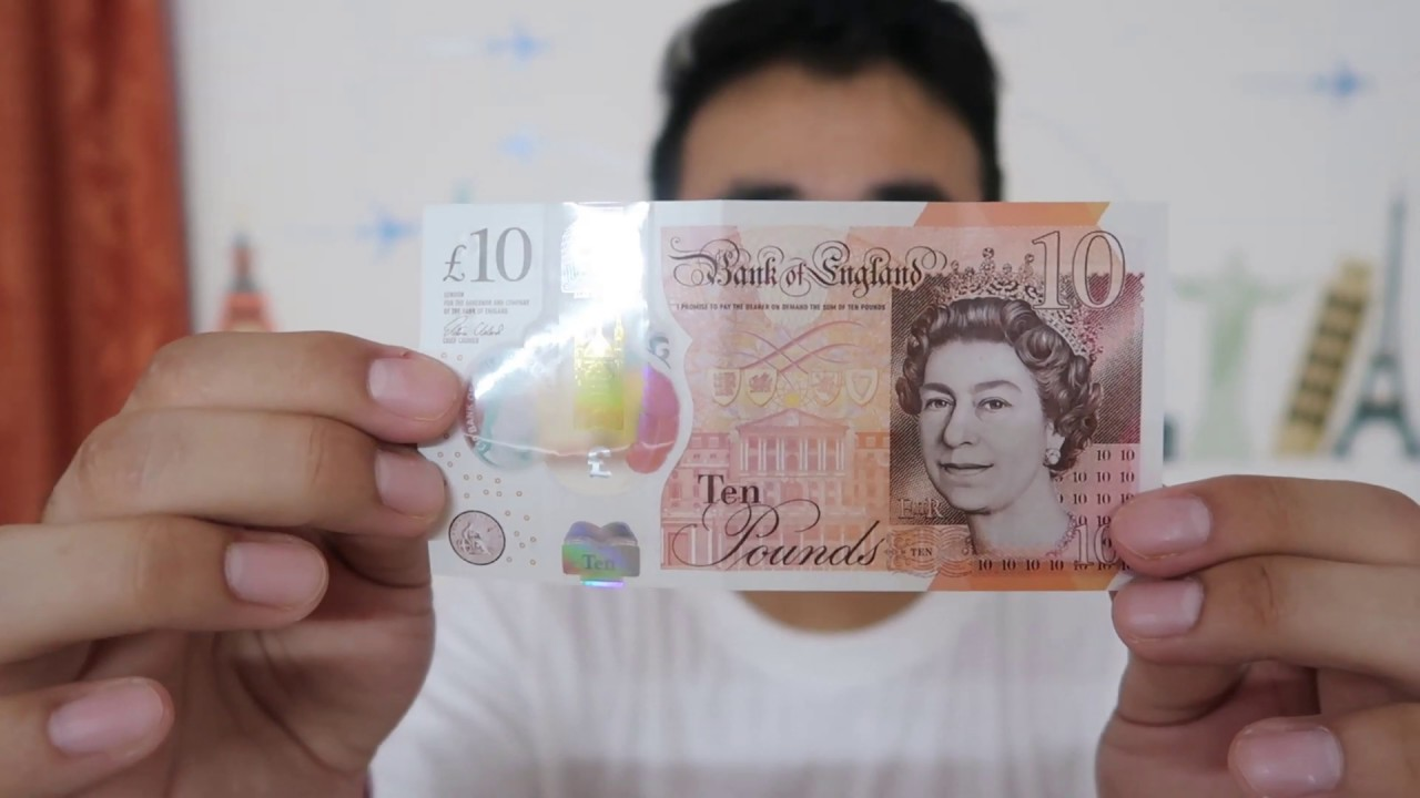 England Pound Money And Currency Travel