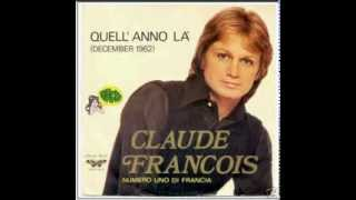CLAUDE FRANCOIS la solitude c