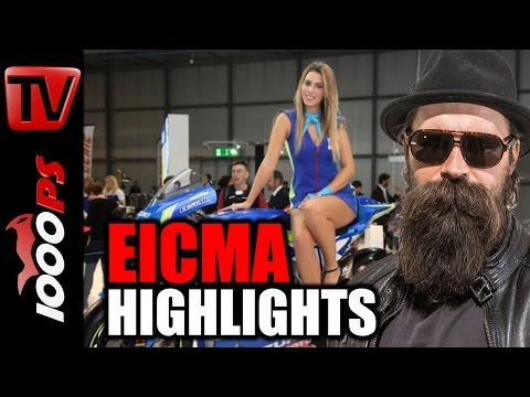 Motorrad Highlights 2017 | Best of EICMA - K.OTs Messerundgang Foto