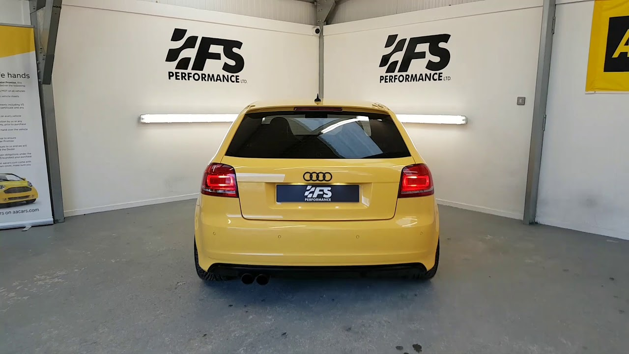 Audi S3 R-Tech stage 2 - YouTube