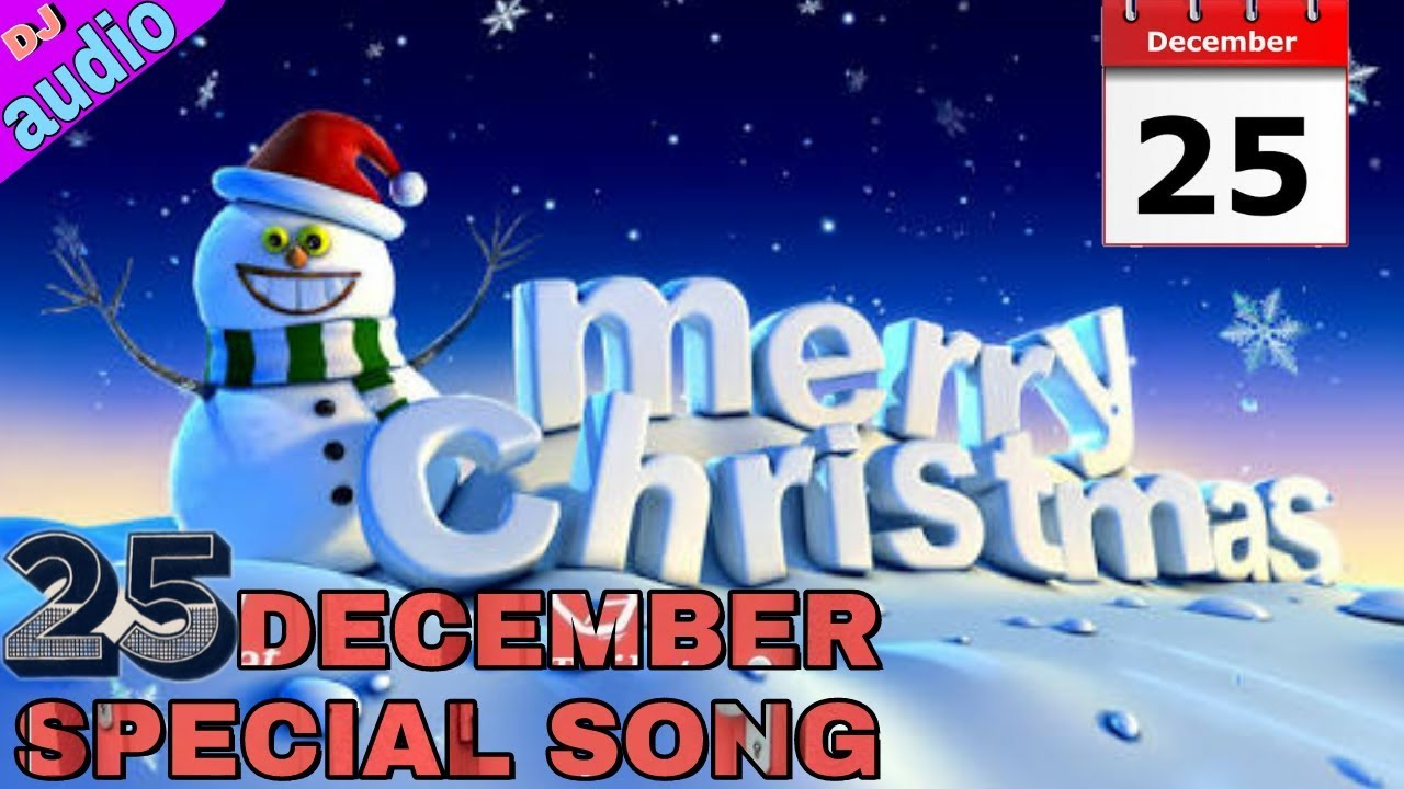 December 25 christmas song